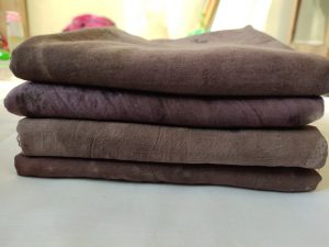 Motif batik Ecoprint